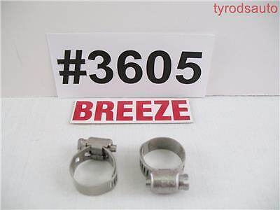 2 Breeze 3605 All Stainless Steel Liner Clamp 17mm 1116 Silicone Hose Fuel Line
