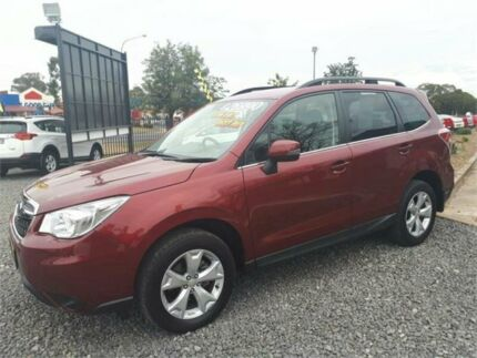 2015 Subaru Forester S4 MY15 2.5i-L CVT AWD Red Mica 6 Speed Constant Variable Wagon