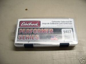 Edelbrock Carb Calibration Kit.
