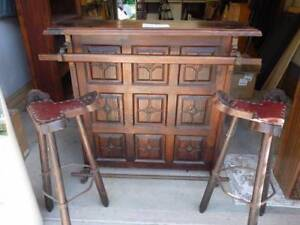Bar and 2 x matching stools Mullumbimby Byron Area Preview
