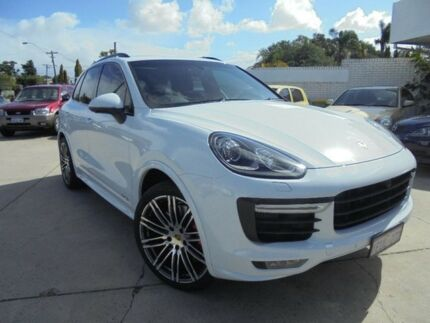 2015 Porsche Cayenne 92A MY16 GTS Tiptronic White 8 Speed Sports Automatic Wagon Bayswater Bayswater Area Preview