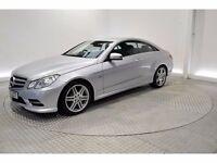 2012 (62 Plate) Mercedes Benz E CLASS E220 Coupe BLUE EFFICIENCY SPEC (RARE 6 SPEED MANUAL)