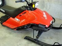 YAMAHA SNOSCOOT ~ WANTED TO BUY ~ RUNNING OR NOT ~Any Condition