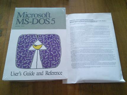 Microsoft MS-DOS 5