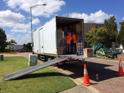 Big Truck - 2 or 3 Removalists - Fully Insured - NO BACKPACKERS!