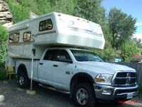 hard shell Truck camper sister of bigfoot excellent cond