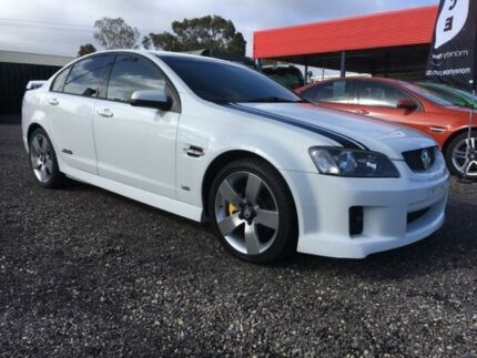 2008 Holden Commodore VE MY09 SS White 6 Speed Sports Automatic Sedan