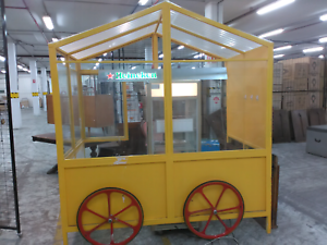 Coffee cart flower cart, product display cart Heidelberg Banyule Area Preview