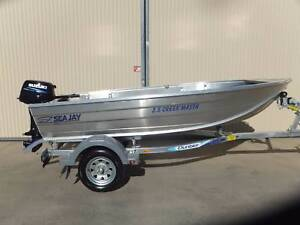2017 SEAJAY 3.5 CREEKMASTER.SUZUKI 15 HP 2 STROKE TRAILER Shepparton Shepparton City Preview