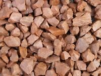 Red 20mm Garden Stones/Chips