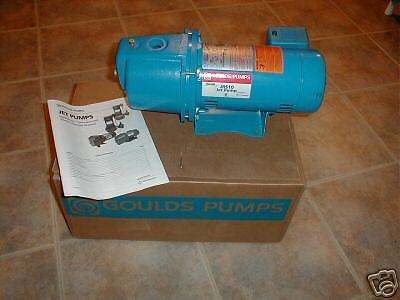 NEW 1 HP GOULDS WATER WELL JET PUMP