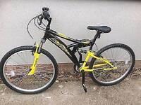 Flite suspension 18 gear mountain bike
