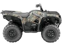 2014 Yamaha Grizzly 550 FI EPS Loaded with Accessories