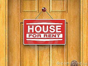 3+ bedroom house for rent $1,500