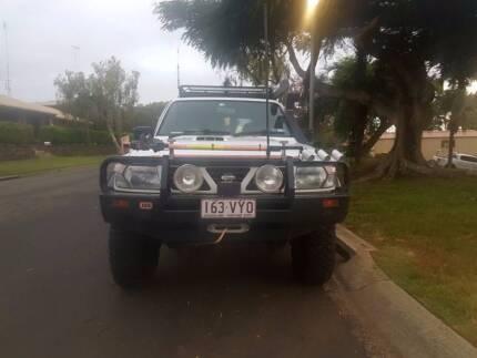1998 Nissan GU Patrol Wagon Twin ARB Lockers
