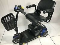 2016 Pride GoGo Elite Traveller 3 Wheel Mobility Scooter 4mph inc Warranty