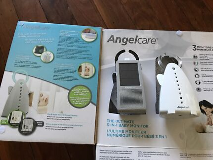 Angelcare AC100 Video & Sound Baby Monitor with sensor pads LIKE NEW