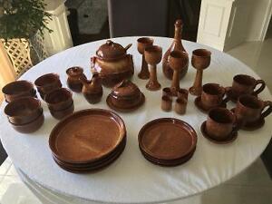 Set de vaisselle artisanal
