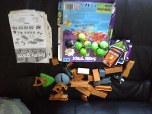 Angry birds set with books. AVAILABLE