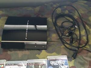 PS3 forsale 220$ plus games