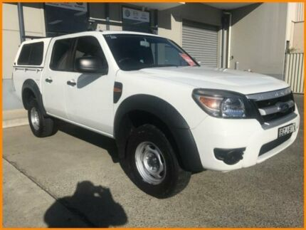 2010 Ford Ranger PK XL HI-Rider (4x2) White 5 Speed Manual Dual Cab Pick-up