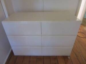 off white 2 pac chest of drawers Bangalow Byron Area Preview