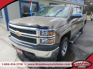 2015 Chevrolet Silverado 1500 WORK READY LT MODEL 6 PASSENGER 4.