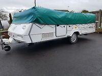 2006 conway crusader 6 berth folding camper/trailer tent