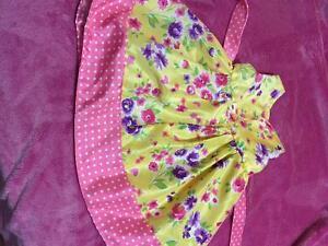 Pink and Yellow Marc and Maddie Dress Kitchener / Waterloo Kitchener Area image 2