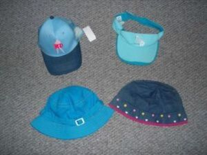 Hats for young girls - some new - MUST GO - $2 EACH