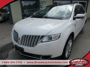 2014 Lincoln MKX LOADED AWD 5 PASSENGER 3.7L - V6.. LEATHER.. HE