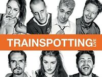 TRAINSPOTTING LIVE WATERFRONT HALL 2 TICKETS FOR £30 31st JANUARY 2018