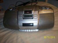 Goodmans Gps 478PLLR Portable Cd Radio Cassette / Boombox - 6 way Speaker System