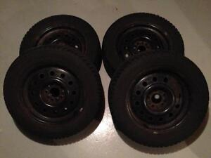 Snow tires Kitchener / Waterloo Kitchener Area image 2