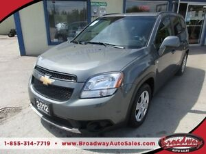 2012 Chevrolet Orlando POWER EQUIPPED LT MODEL 7 PASSENGER 2.4L