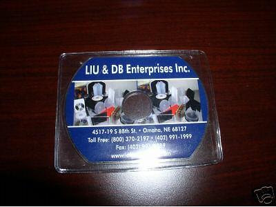 1000 New Bizcard Business Card Cd Vinyl Sleeve