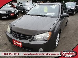 2005 Kia Spectra5 'GREAT VALUE' 5 SPEED MANUAL HATCH MODEL 5 PAS