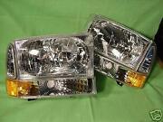 02 F250 Headlights