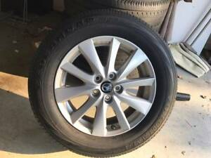 Mazda CX5 17 Inch Alloy Wheels and Tires x 4 Arundel Gold Coast City Preview