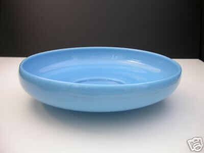 Cambridge Azurite Rolled Edge Footed Bowl 10 1/4
