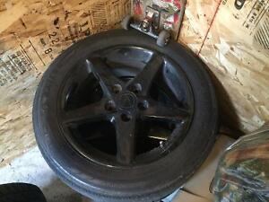 Mags dacura rsx sur pneu 17 pouces