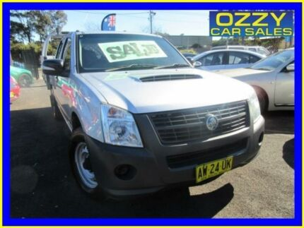 2008 Holden Rodeo RA MY08 LX Silver 5 Speed Manual Crew Cab P/Up