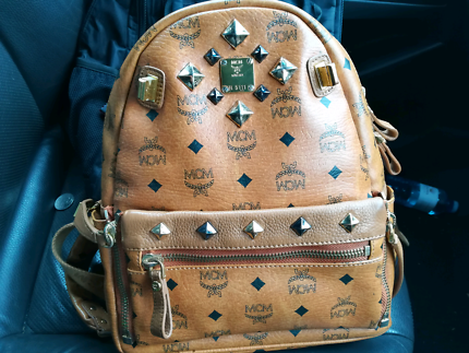 MCM small backpack $320