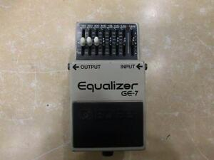 Pédale de guitare Boss G-7 equalizer (i011922)