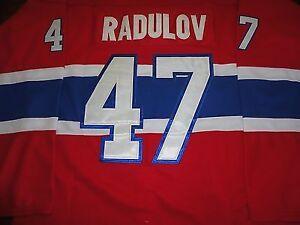 Alexander Radulov Montreal Canadiens Hockey Jersey Size 52 or XL