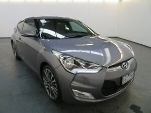 2015 Hyundai Veloster FS4 Series 2 + Sonic Silver 6 Speed Auto Dual Clutch Coupe Albion Brimbank Area Preview