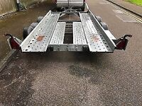 car transporter trailer (ifor williams)