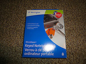 Kensington Keyed Notebook Lock-New in package + lots more-Lot $5