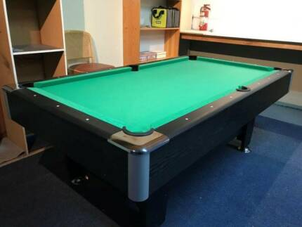 NEW PUB SIZE POOL TABLE 7FT GREEN SNOOKER BILLIARD TABLE FOR SALE