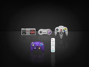 Old working/non-working Nintendo controllers